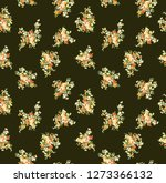 lovely little tiny small orange ... | Shutterstock . vector #1273366132