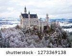 neuschwanstein castle  schloss... | Shutterstock . vector #1273369138