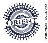 blue orient grunge stamp | Shutterstock .eps vector #1273377955