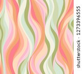 colorful pattern of wavy lines  ... | Shutterstock .eps vector #1273396555