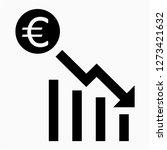 outline euro recession pixel... | Shutterstock .eps vector #1273421632