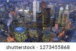 An Aerial Of Toronto  Canada...