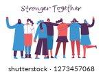 colorful vector illustration... | Shutterstock .eps vector #1273457068