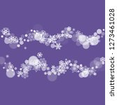 xmas theme sale with... | Shutterstock .eps vector #1273461028