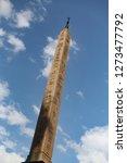 egyptian obelisk in piazza... | Shutterstock . vector #1273477792