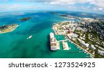 aerial view of key west in... | Shutterstock . vector #1273524925