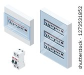Isometric Electrical Panel Wit...