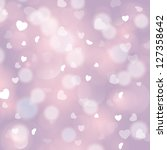 pink love abstract background.... | Shutterstock . vector #127358642