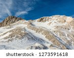 spectacular winter mountain... | Shutterstock . vector #1273591618