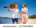 funky careless people party... | Shutterstock . vector #1273603885