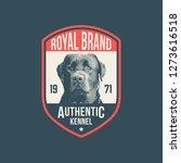 Vintage Dog Logo Badges...