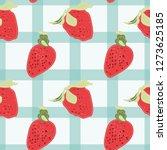 retro chic seamless pattern of... | Shutterstock .eps vector #1273625185