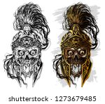 detailed graphic realistic... | Shutterstock .eps vector #1273679485