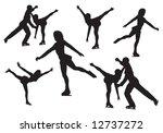 figure skating | Shutterstock . vector #12737272