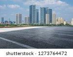 panoramic skyline and modern... | Shutterstock . vector #1273764472