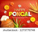 poster design for indian... | Shutterstock .eps vector #1273770748