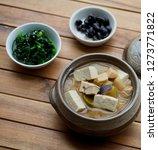 korean food soybean paste stew  ... | Shutterstock . vector #1273771822