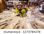 classy wedding setting.table... | Shutterstock . vector #1273784278