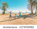 family beautiful photos with... | Shutterstock . vector #1273920982