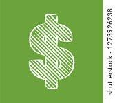 dollar sign vector icon symbol. ... | Shutterstock .eps vector #1273926238