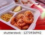 garlic shrimps at north shore... | Shutterstock . vector #1273936942