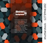 abstract background with... | Shutterstock .eps vector #1273946182