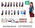 female business character...   Shutterstock .eps vector #1273965322