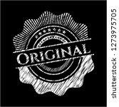original on blackboard   Shutterstock .eps vector #1273975705