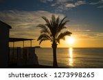 Idyllic Sunrise On A Costa...