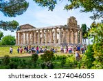 italy  may 2015   the ancient... | Shutterstock . vector #1274046055