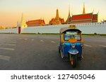 tuk tuk for passenger cars. to... | Shutterstock . vector #127405046