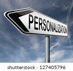 personalization personal...   Shutterstock . vector #127405796