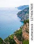 view of amalfi coast along the... | Shutterstock . vector #1274067835