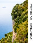 view of amalfi coast along the... | Shutterstock . vector #1274067862