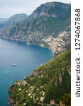 view of amalfi coast along the... | Shutterstock . vector #1274067868