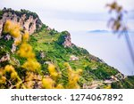 view of amalfi coast along the...   Shutterstock . vector #1274067892