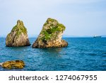 view of beach in vietri sul...   Shutterstock . vector #1274067955