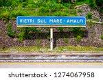 vietri sul mare   amalfi train...   Shutterstock . vector #1274067958