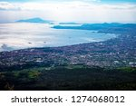 view of naples city in italy...   Shutterstock . vector #1274068012