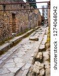 ancient ruins in pompeii ...   Shutterstock . vector #1274068042