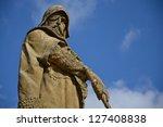 statue of jan zizka of  trocnov ... | Shutterstock . vector #127408838