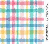 overlapping lines chequered... | Shutterstock .eps vector #1274097142
