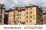 rome  italy   august 21  2018 ... | Shutterstock . vector #1274129158