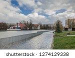 kolobrzeg  west pomeranian  ...   Shutterstock . vector #1274129338