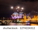 night photo of new year... | Shutterstock . vector #1274224312