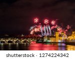 night photo of new year... | Shutterstock . vector #1274224342