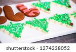 step by step. decorating... | Shutterstock . vector #1274238052