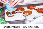 step by step. decorating... | Shutterstock . vector #1274238082