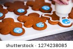 step by step. decorating... | Shutterstock . vector #1274238085