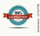 raster version 100 ... | Shutterstock . vector #127427786